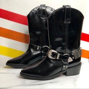 NEW Heiress x FP Ridge cowboy boots 38